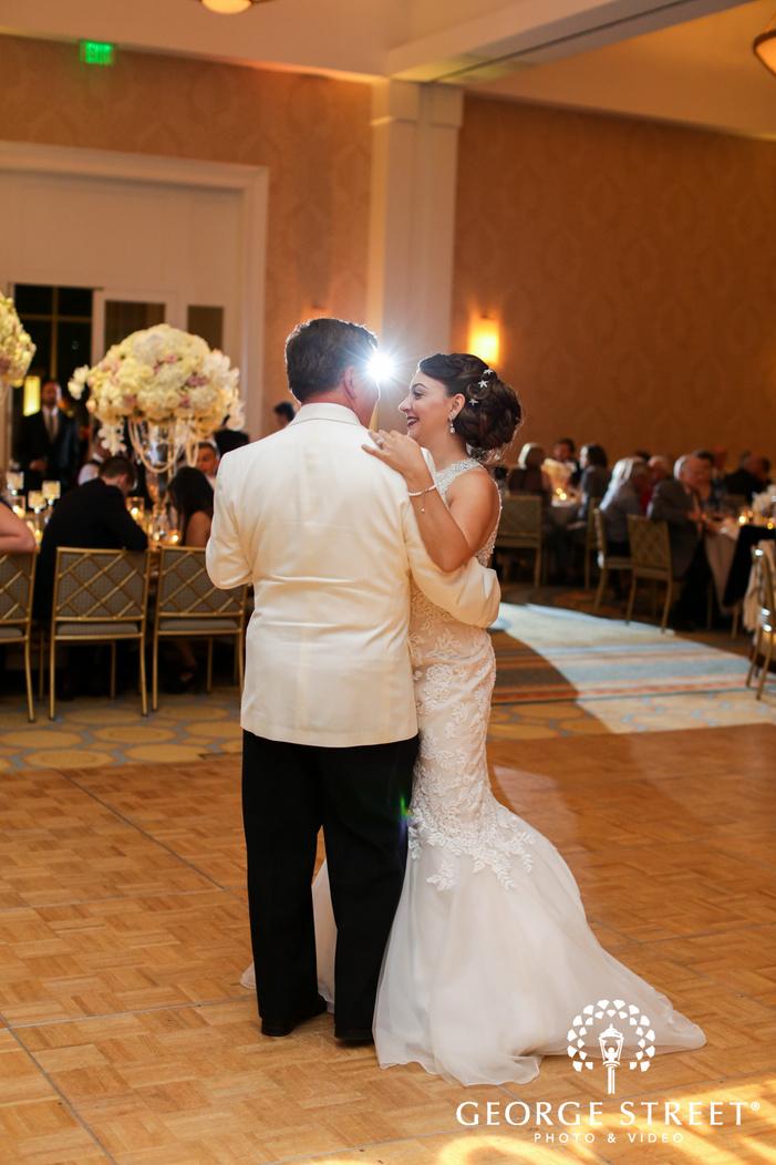 belo mansion dallas wedding reception first dance