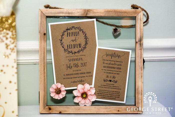 adorable wedding decor details wedding photo