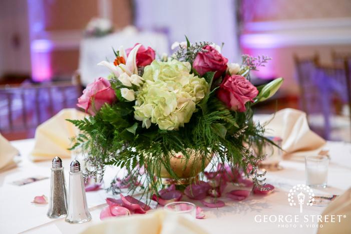 Dearborn Inn wedding reception decor