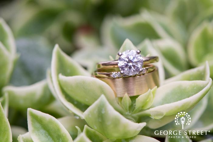missouri Botanical Garden St  Louis wedding beautiful ring detail