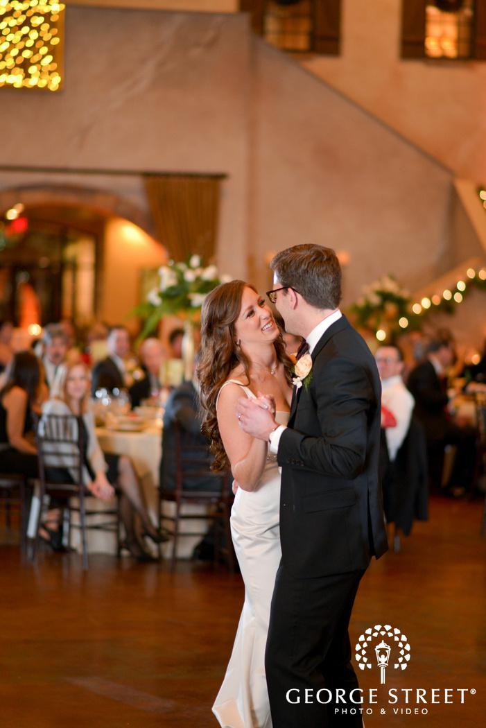 bella sera pittsburgh wedding reception first dance