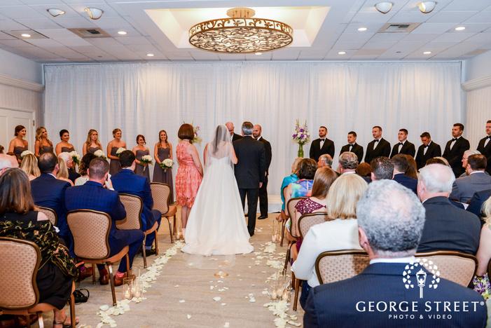 adorable ceremony wedding photo