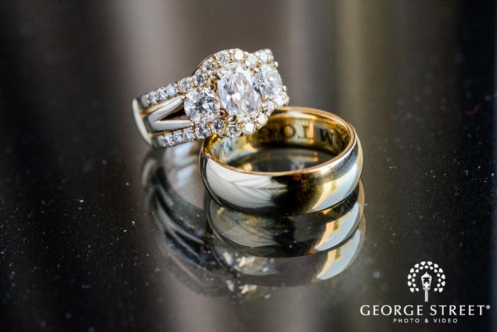 beautiful wedding rings wedding photography