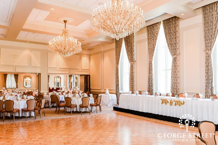 mesmerizing reception hall at washington athletic club in seattle