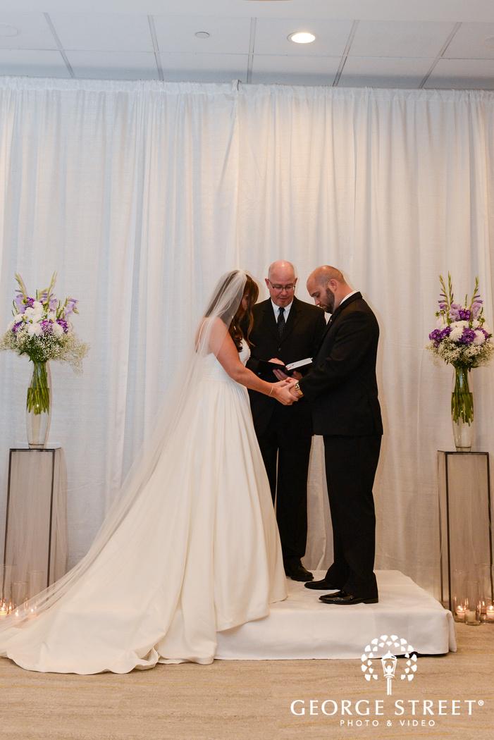 sweet wedding ceremony wedding photo