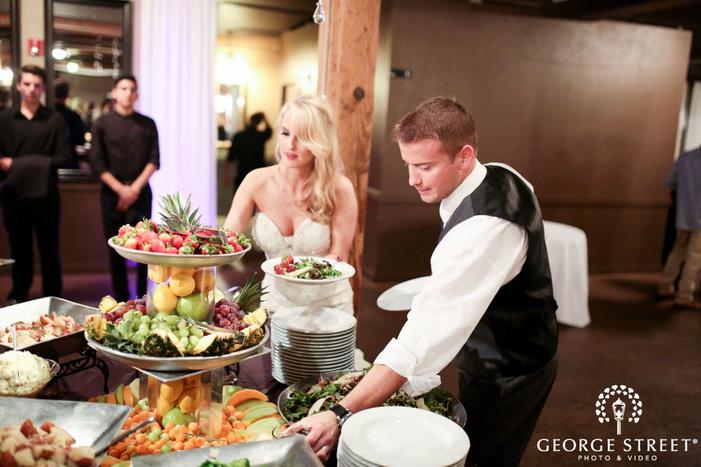 lord hill farms wedding reception portraits