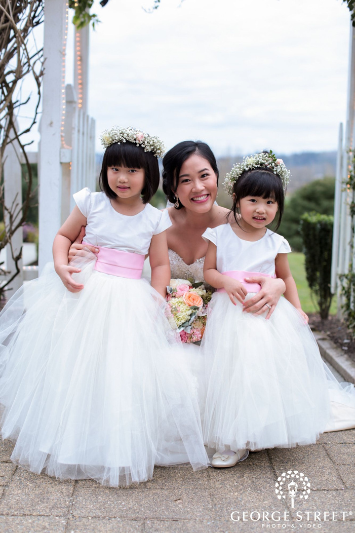 seattle wedding ceremony candid portraits