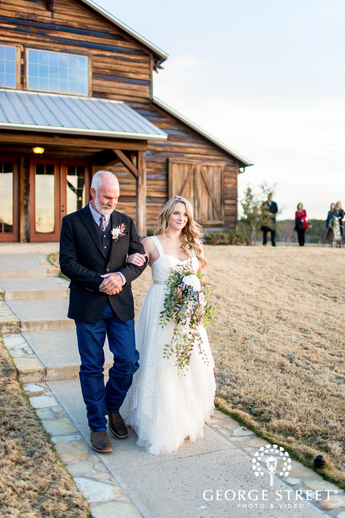Thistle Springs Ranch outdoor wedding ceremony