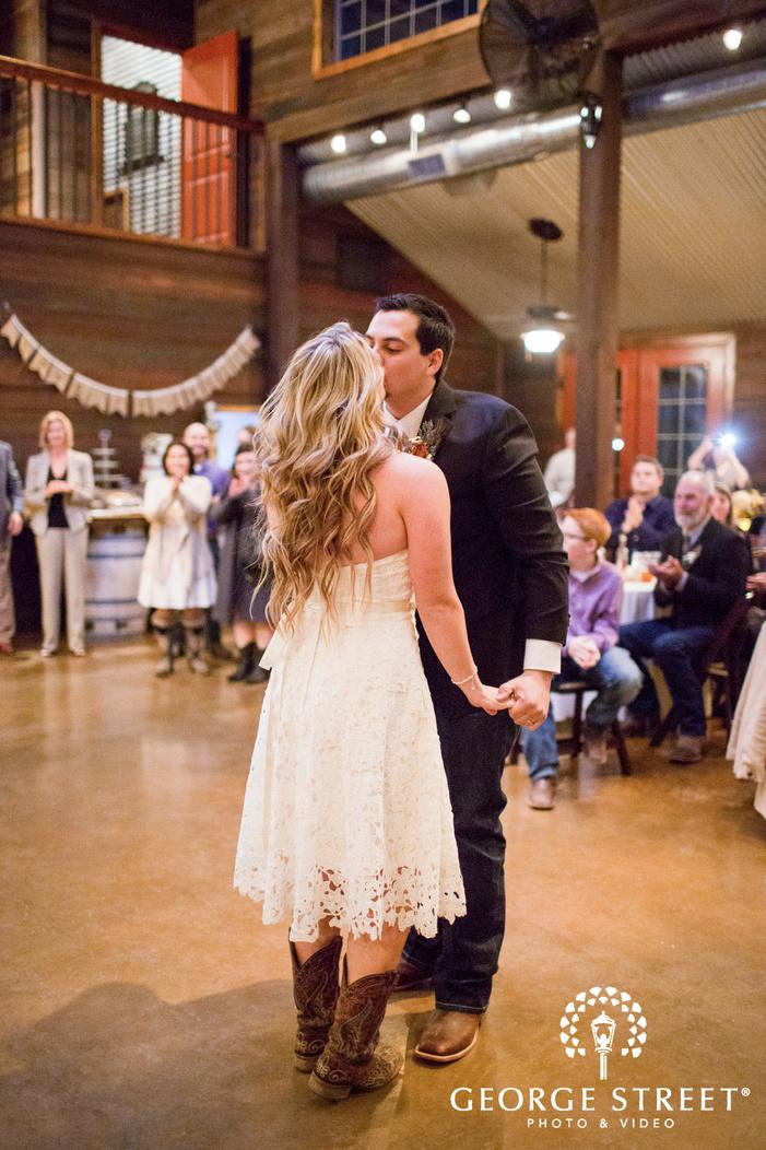 Thistle Springs Ranch wedding reception