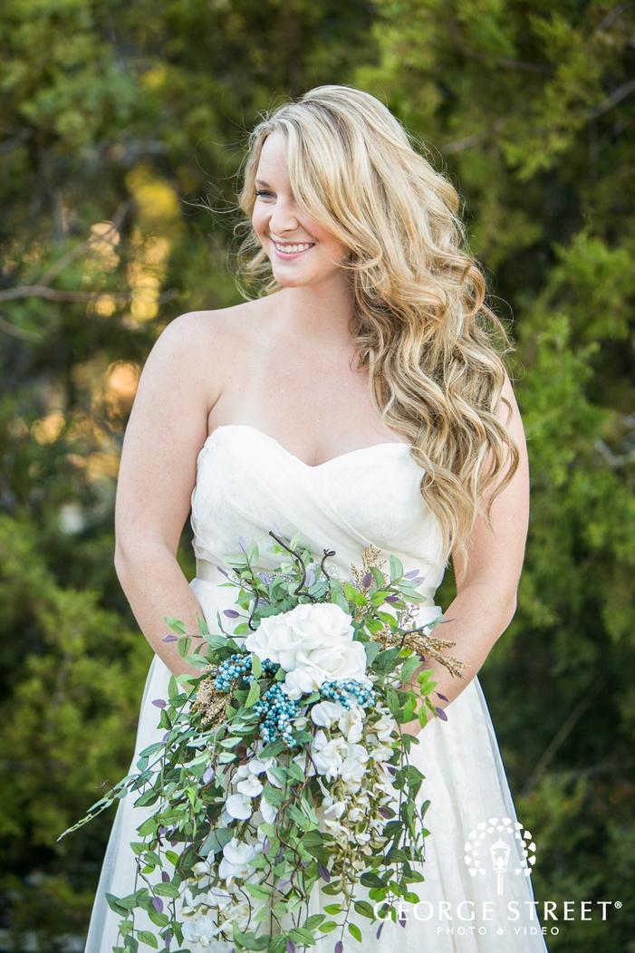 bridal portrait Thistle Springs Ranch
