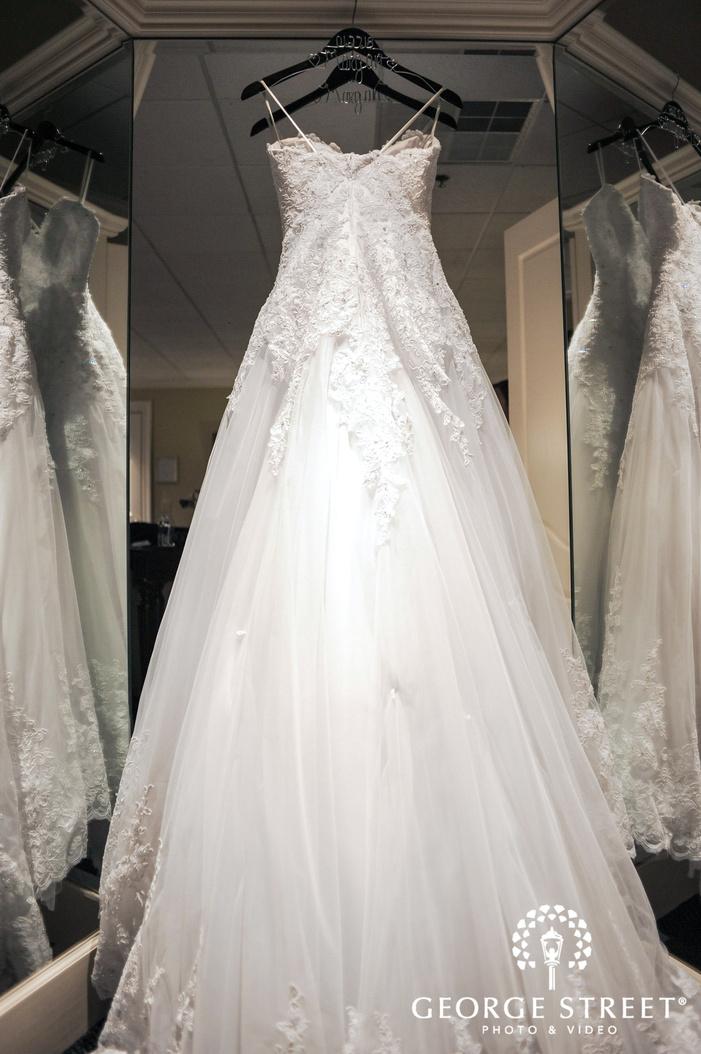 cherry creek golf club detroit elegant bridal dress wedding photos