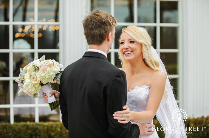 cherry creek golf club lively bride and groom first sight detroit wedding photos