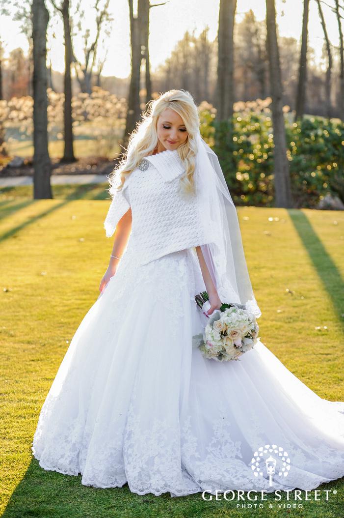 creek golf club detroit pretty bride wedding photos