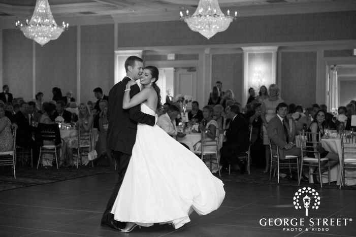 bride and groom classic first dance