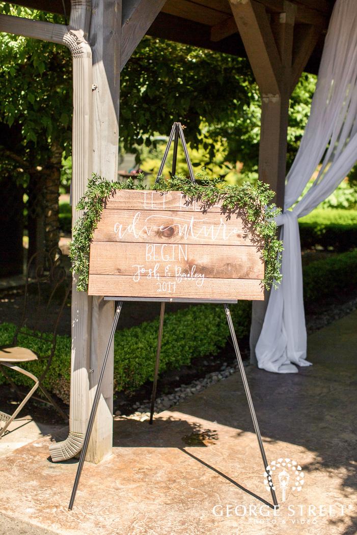 lovely wedding ceremony detail wedding photo