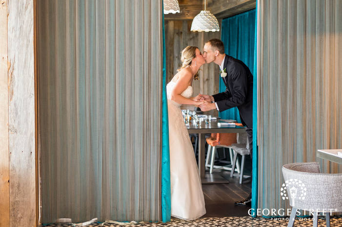 lovely bride and groom moment wedding photography
