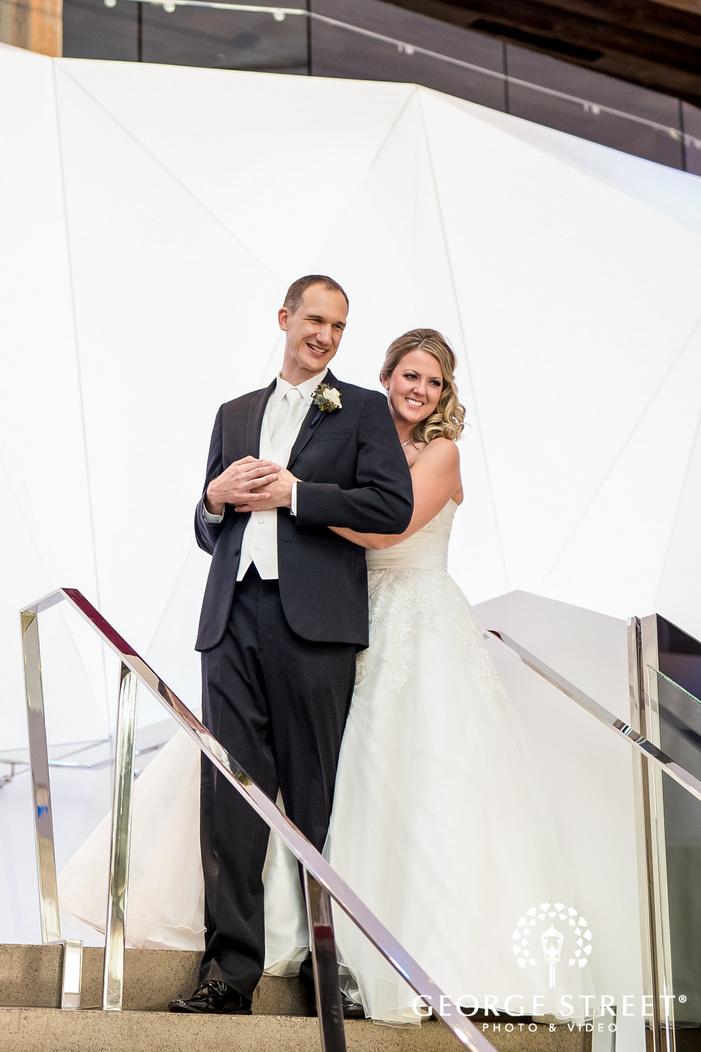 lovely couple at minneapolis wedding photo