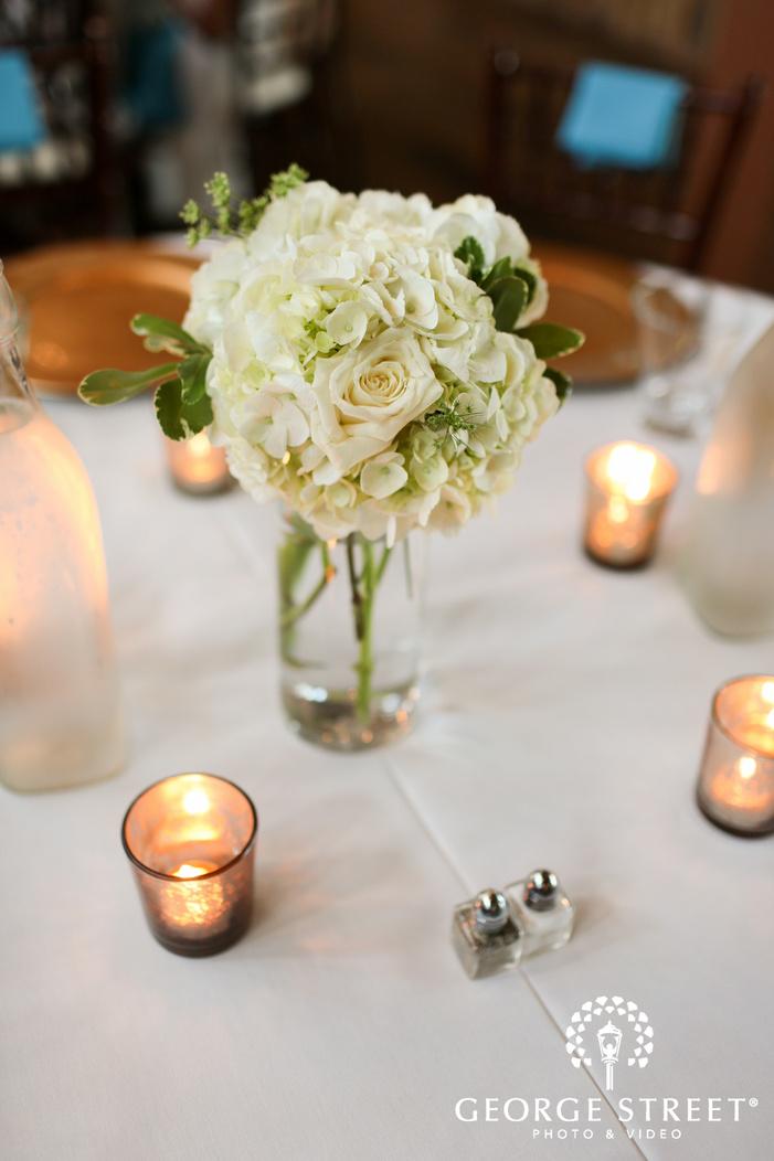 simple floral wedding table ideas