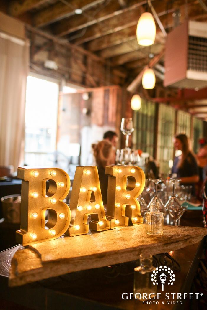 wedding bar decor ideas