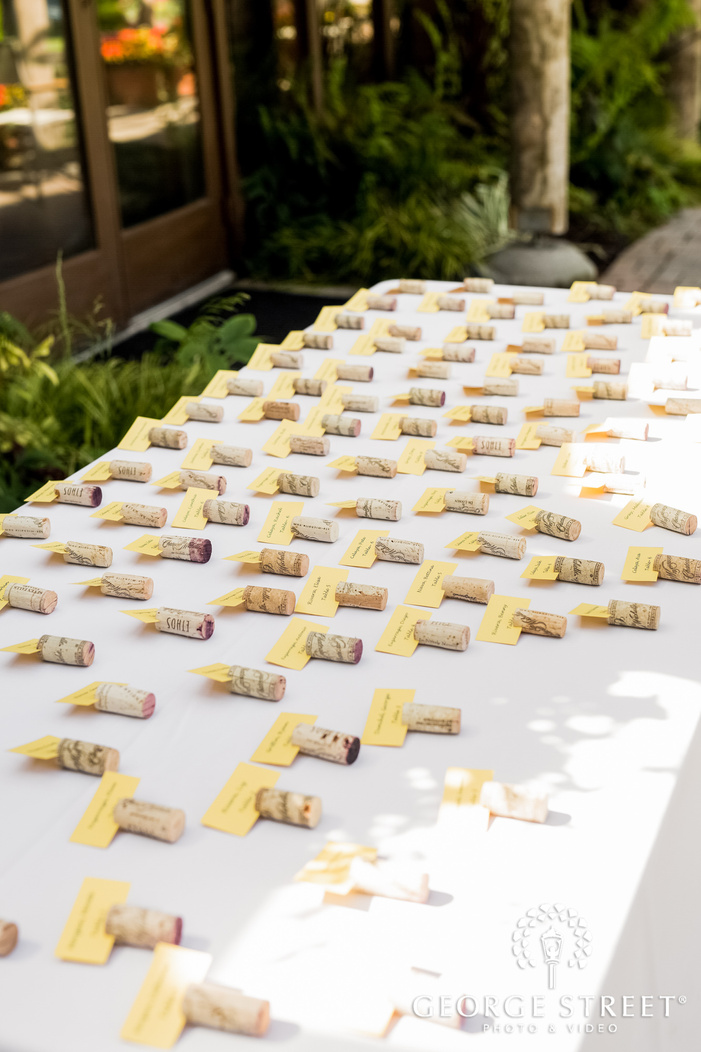 cute reception table cards wedding photo