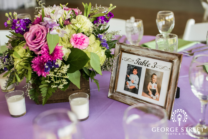 elegant wedding decor detail