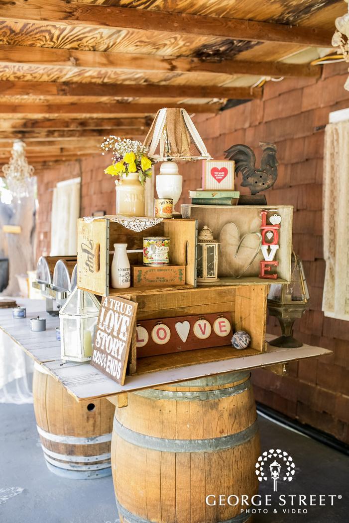 gorgeous reception decor details in phoenix wedding photos