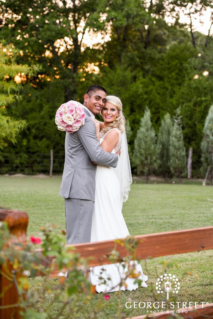 beautiful outdoor bride and groom portraits heritage springs dallas