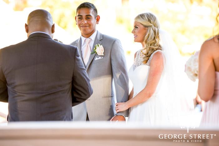 heritage springs beautiful outdoor wedding ceremony dallas