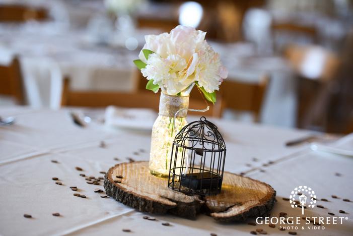 heritage springs dallas indoor wedding reception table decor