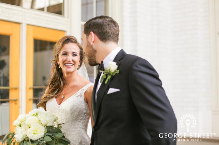 Union Station Dallas classic wedding photography
