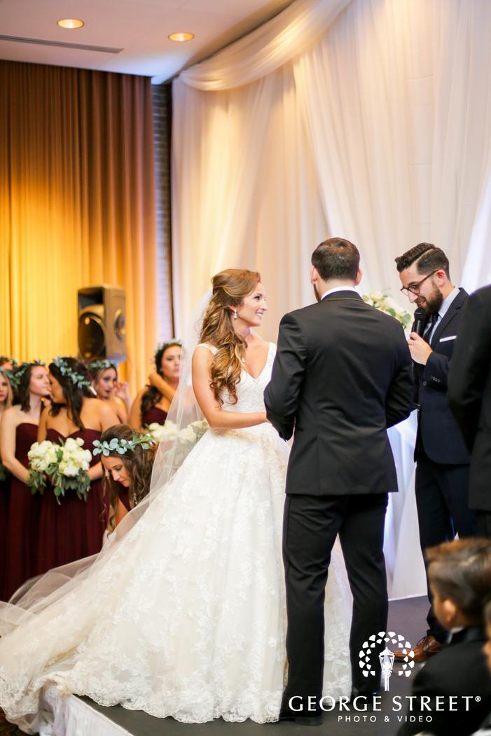 Union Station Dallas wedding ceremony