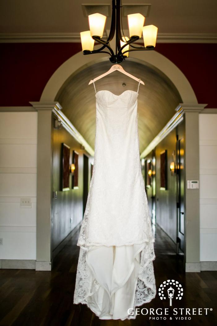 lovely white bridal dress             s