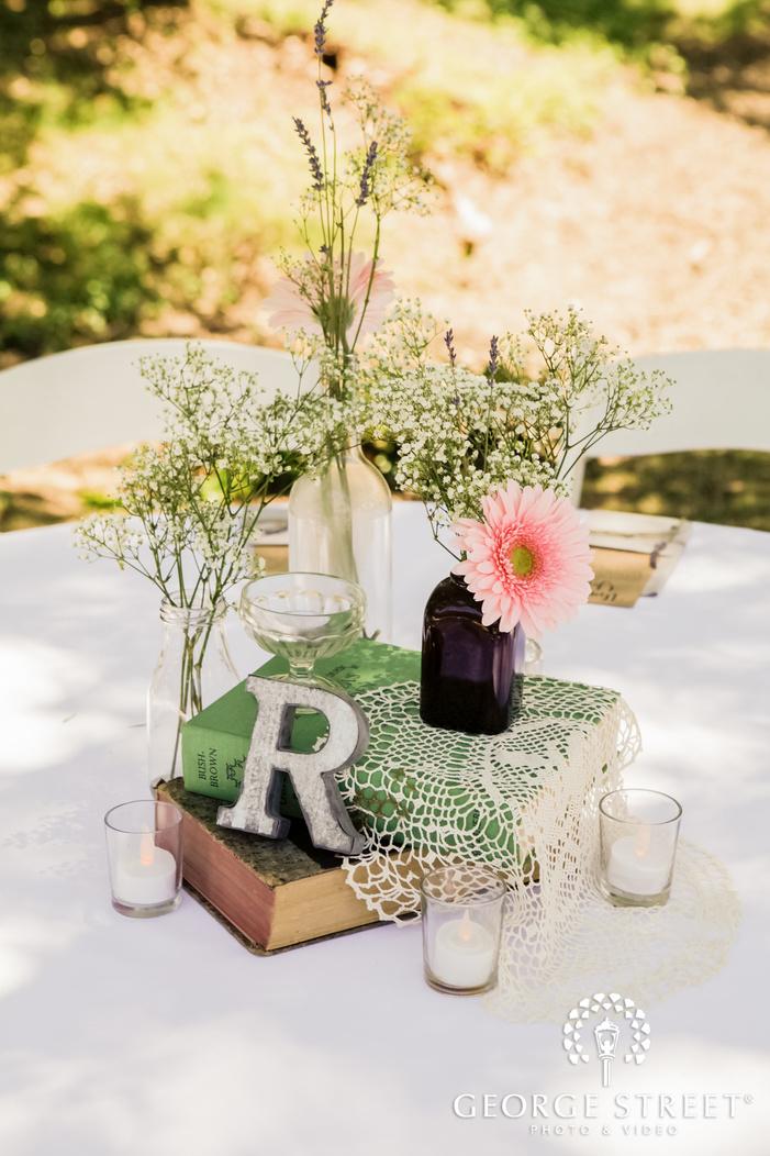 beautiful wedding decor detail