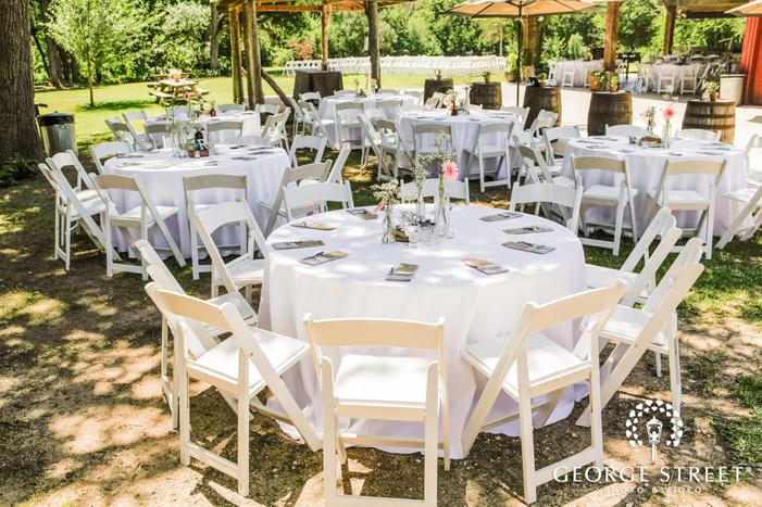 decent table decor detail wedding photo