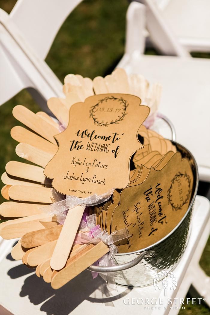 elegant wedding ceremony detail