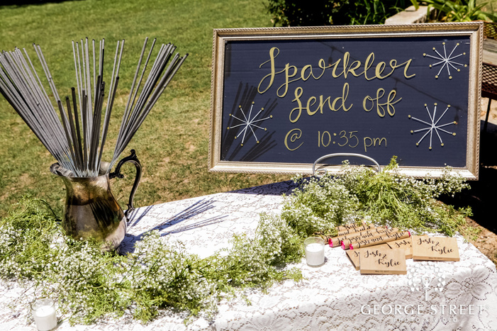 lovley wedding ceremony detail