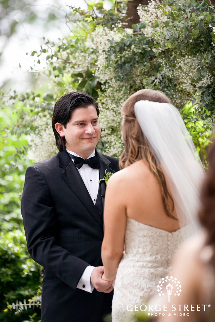 austin wedding ceremony outdoor portraits