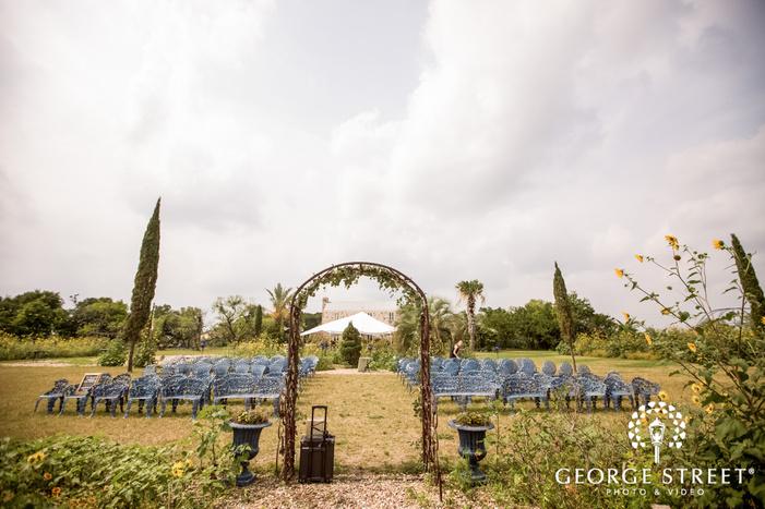 appealing ceremony venue at le san michele at austin