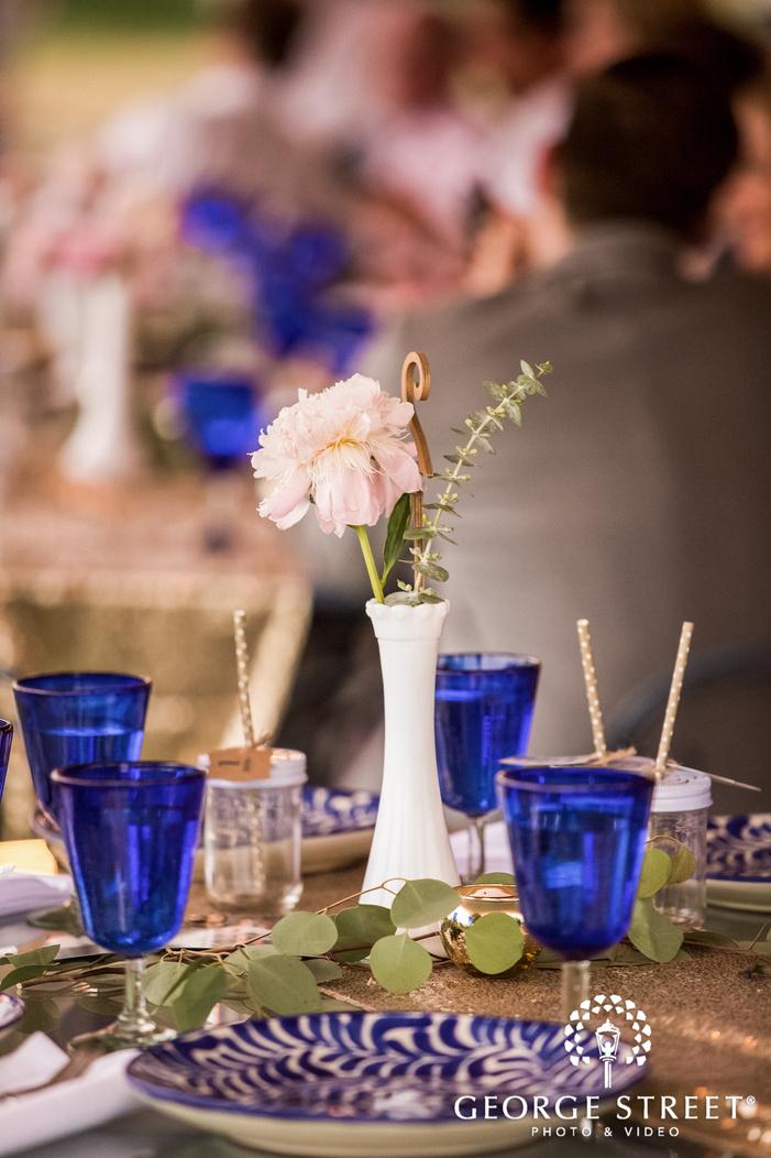elegant reception table decor