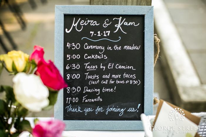 classic wedding decor details wedding photo