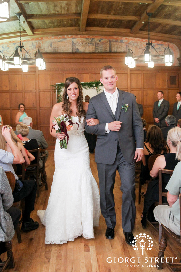 best place pabst brewery wedding ceremony portraits
