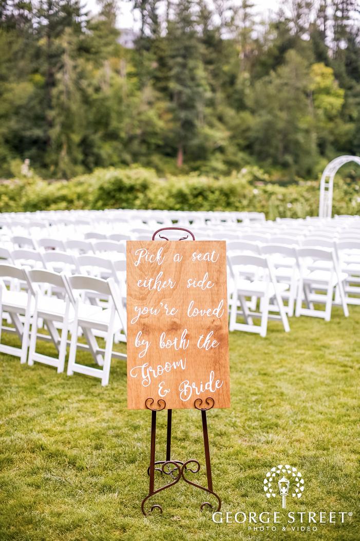 lovely wedding decor details wedding photo