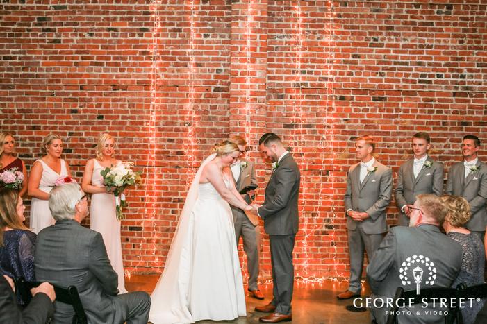 beautiful wedding ceremony wedding photo