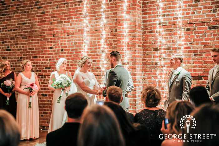blissful couple vows exchange wedding photography