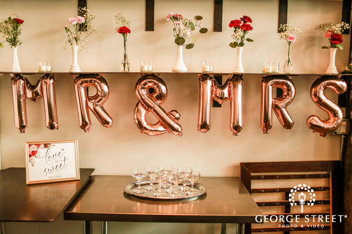 elegant reception decor wedding photo