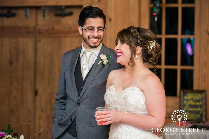 happy bride and groom wedding photography