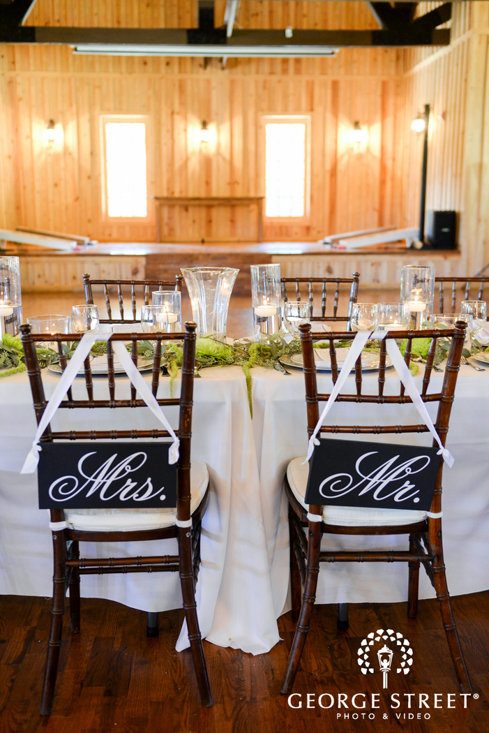 hidden springs events dallas wedding reception chair details
