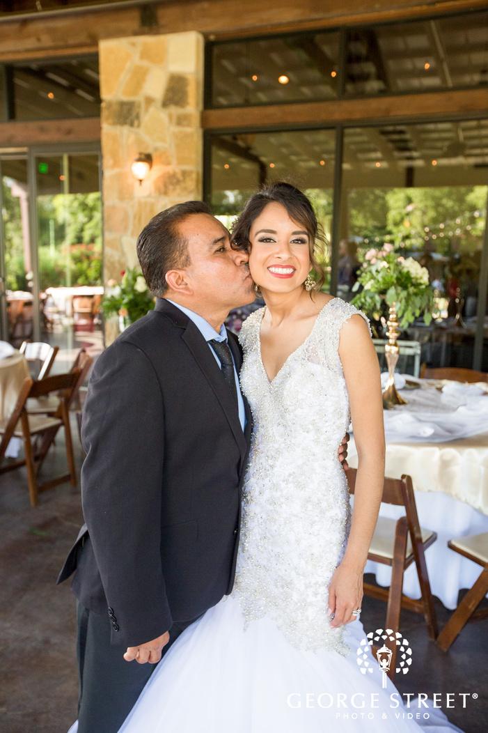 pecan springs ranch austin wedding reception bride portraits