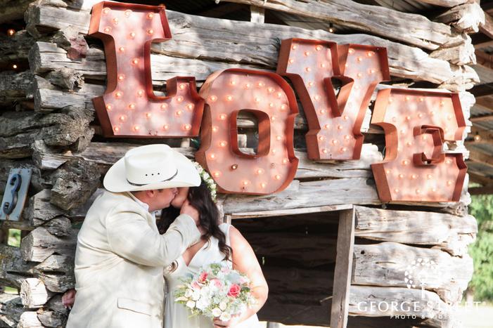 pecan springs ranch wedding beautiful outdoor bride and groom portraits