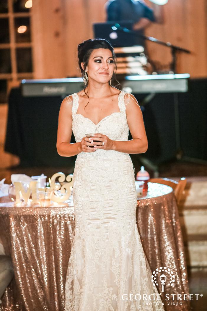 gabriel springs austin emotional bride on reception wedding photos